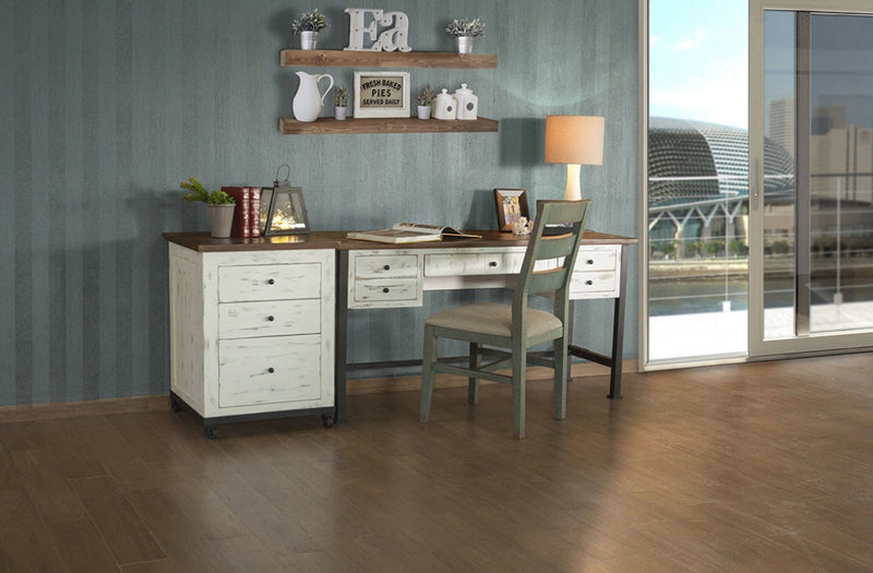 Greenview Mod Writing Desk - Distressed White