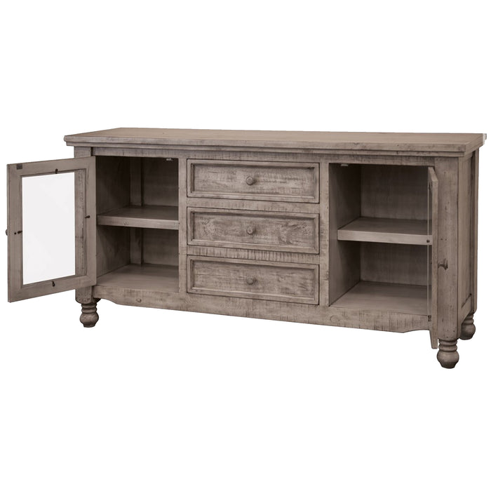 Ballade 3 Drawer / 2 Door Console Table - Gray - 69""