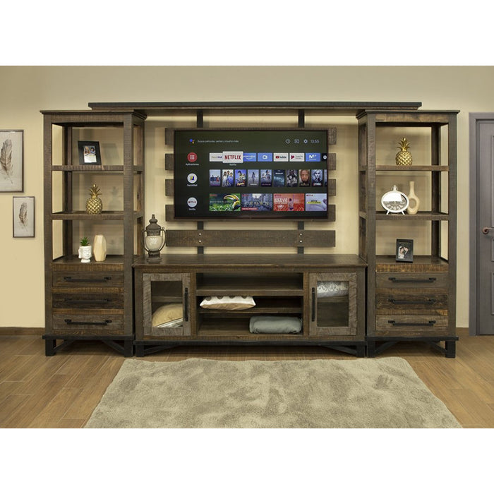 Greenview Loft 3 Drawer Pier Bookcase