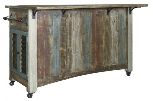 Bayshore Kitchen Island - Crafters and Weavers