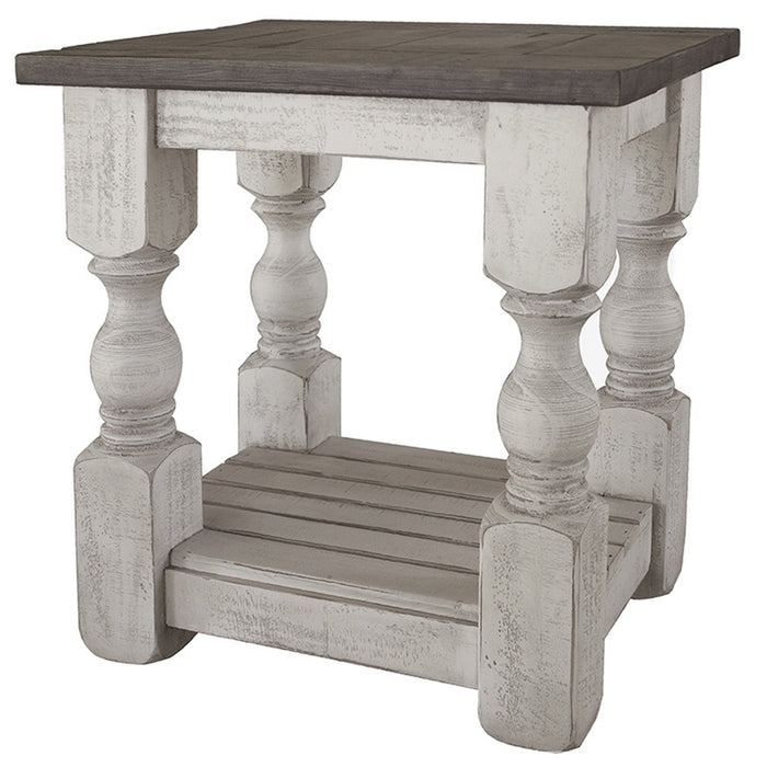 Stonegate Pillar Style Side Table