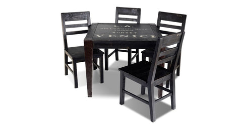 City Square Dining Table - Crafters & Weavers - 1