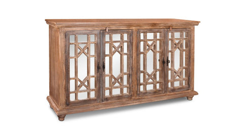 Keystone Mirrored Door Sideboard - Crafters & Weavers