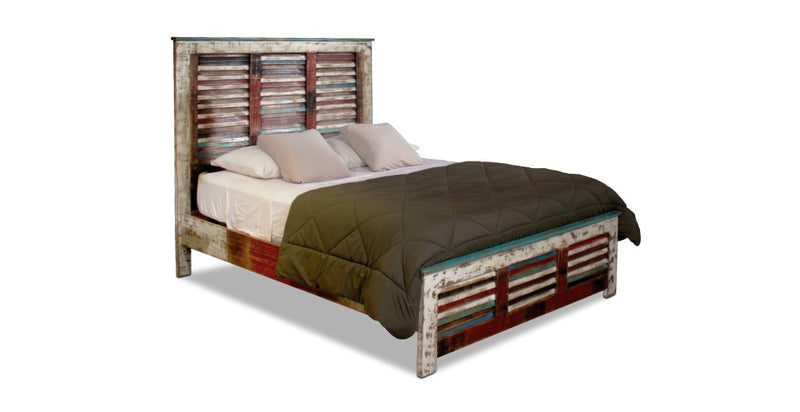 Granville Parota Bed Frame - Queen