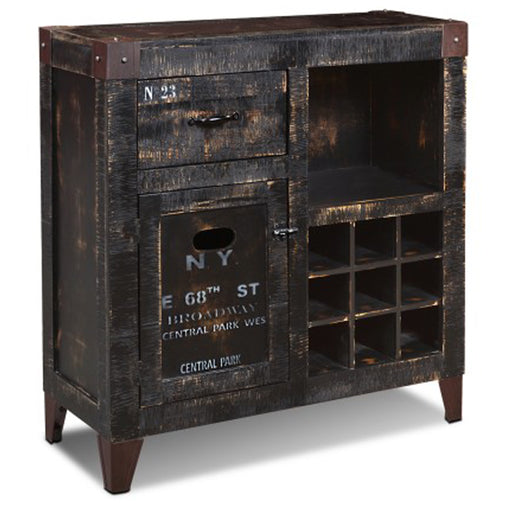 "PREORDER City Wine Cabinet & Bar - New York - 36"" wide - Crafters and Weavers"