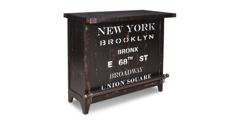 City Open Side Table - New York