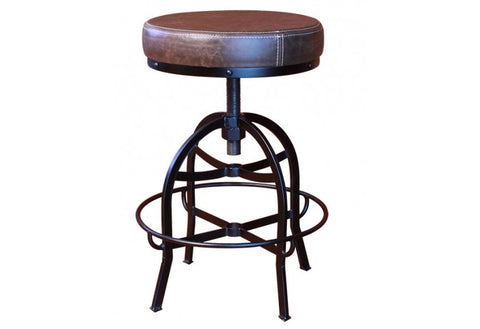 Ashland Adjustable Height Bar Stool - Crafters & Weavers
