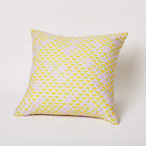 Small Triangle Print Pillow in Skydance.
