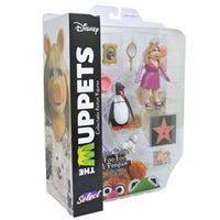 Muppets Select Miss Piggy, Foo-Foo & Penguin