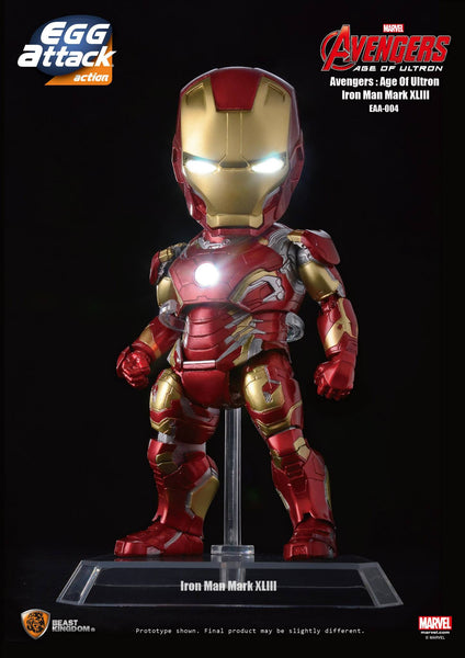 Egg Attack Action: EAA-004 Avengers: Age Of Ultron Iron Man Mk 43