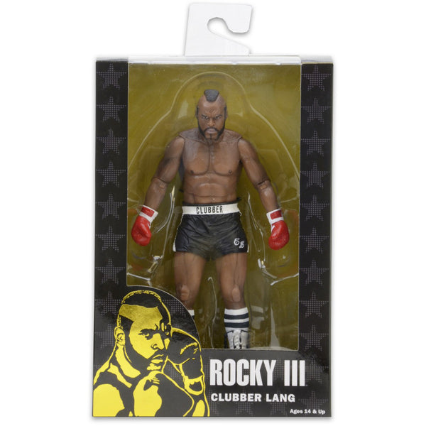 NECA Rocky III Clubber Lang (Black Trunks)