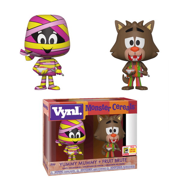 Vynl. Monster Cereals: Yummy Mummy & Fruit Brute