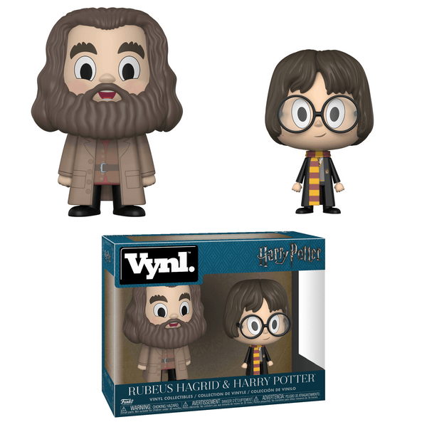 Vynl. Harry Potter: Rubeus Hagrid & Harry Potter