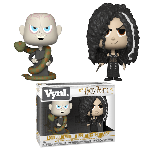 Vynl. Harry Potter: Lord Voldermort & Bellatrix Lestrange