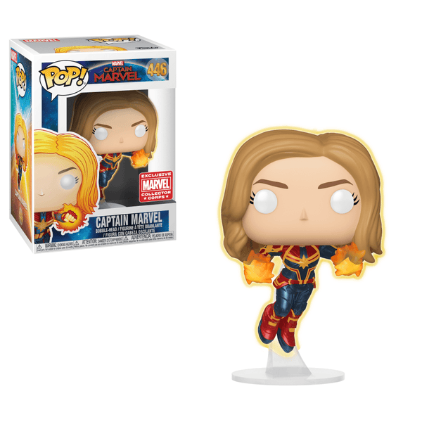 Pop! Captain Marvel 446: Captain Marvel