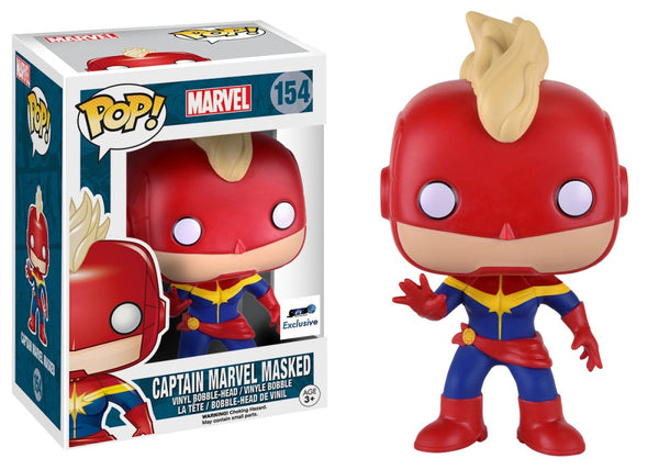 Pop! Marvel 154: Captain Marvel Masked