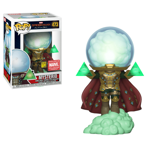 Pop! Spiderman Far From Home 473: Mysterio (Light Up)