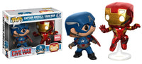 Pop! Captain America Civil War Captain America/Iron Man 2 Pack