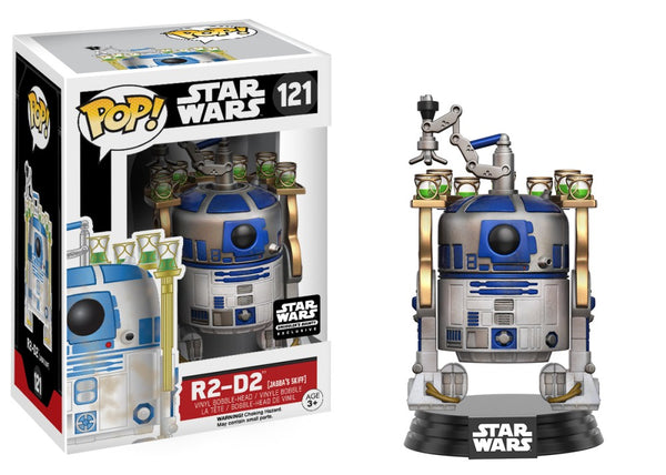 Pop! Star Wars 121: R2-D2 (Jabba's SKiff)