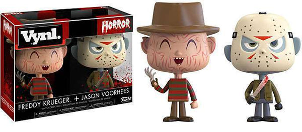 Vynl. Horror: Freddy Krueger & Jason Voorhees