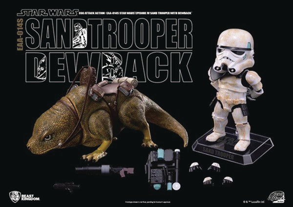 Egg Attack Action: EAA-014S Star Wars Episode IV Sandtrooper with Dewback
