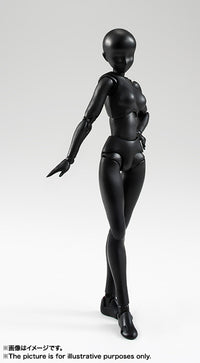 S.H. Figuarts Body Chan [Solid Black Color Ver.]