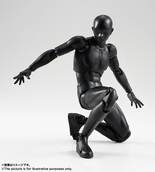S.H. Figuarts Body Kun [Solid Black Color Ver.]