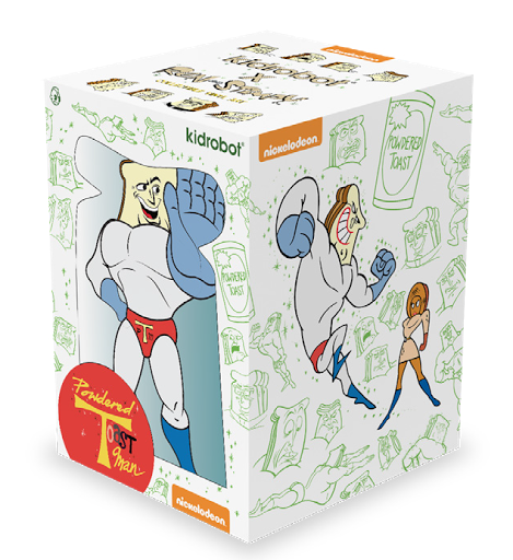 kidrobot Vinyl Powdered Toast Man