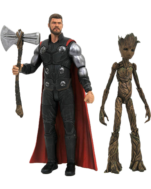 Marvel Select Avengers Infinity War: Thor & Groot
