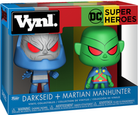 Vynl. DC Super Heroes: Darkseid & Martian Manhunter