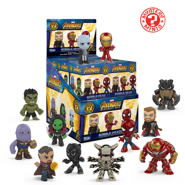 Avengers Infinity War Mystery Minis