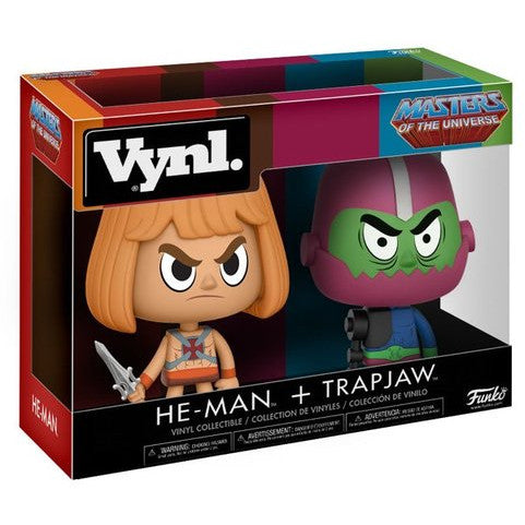 Vynl. Masters of The Universe: He-Man & Trapjaw