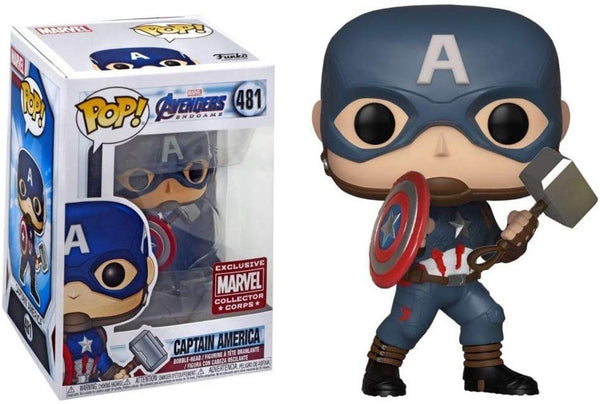 Pop! Avengers Endgame 481: Captain America