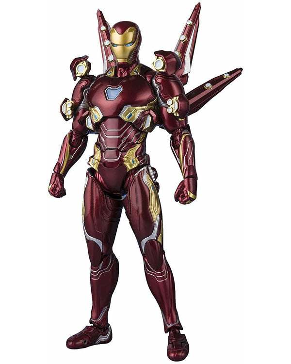 S.H. Figuarts Avengers: Endgame Iron Man Mk.50 Nano Weapon Set 2