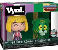 Vynl. Masters of The Universe: Prince Adam & Cringer