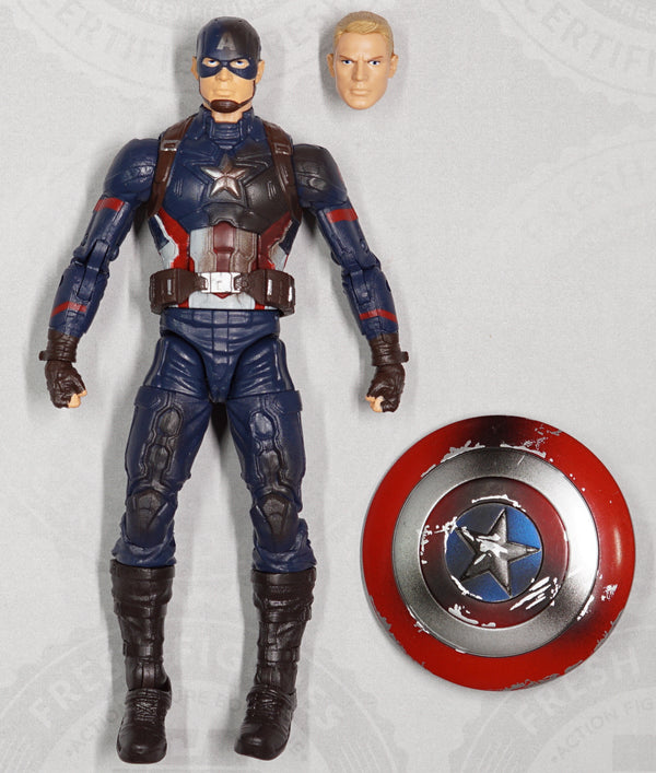 Marvel Legends Captain America [Battle Damaged]