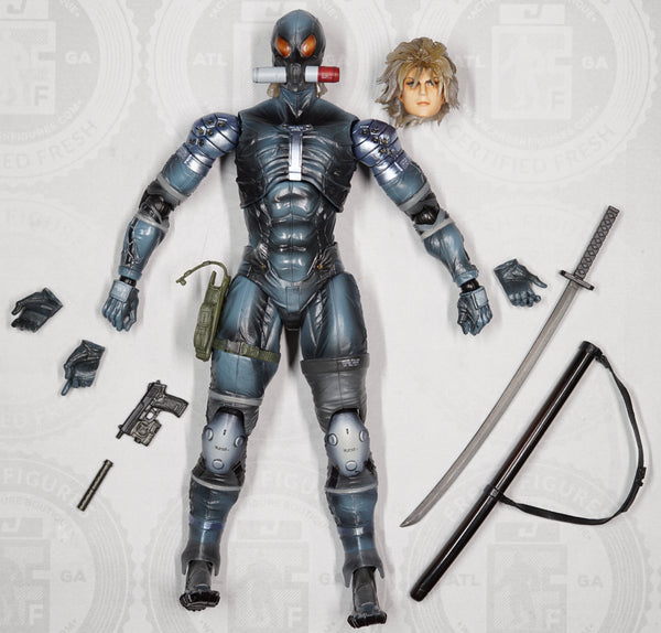 Play Arts Metal Gear Solid 2 Sons of Liberty Raiden