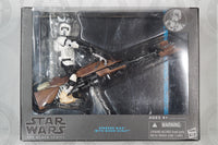 Star Wars: The Black Series Speeder Bike with Biker Scout