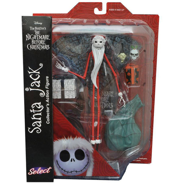 The Nightmare Before Christmas Select Santa Jack