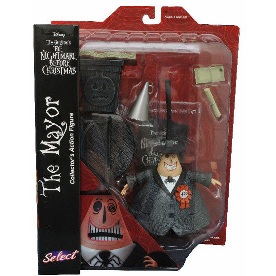 The Nightmare Before Christmas Select Mayor