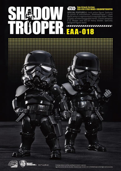 Egg Attack Action: EAA-018 Star Wars Shadow Trooper