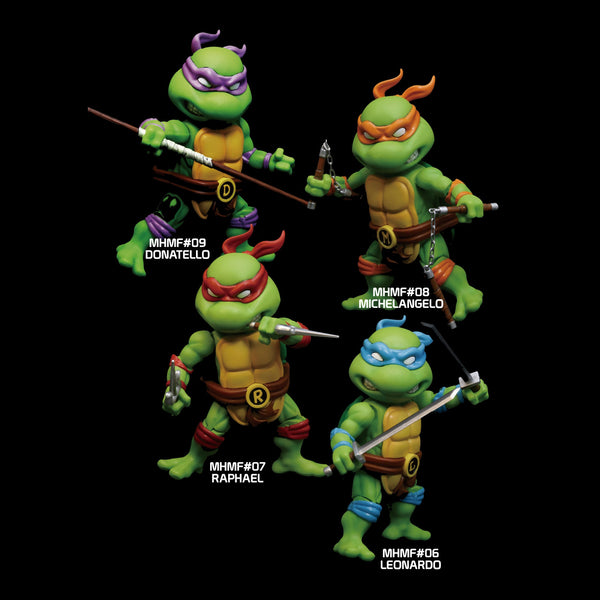 Mini Hybrid Metal Figuration #302 TMNT 4-In-1 Box Set