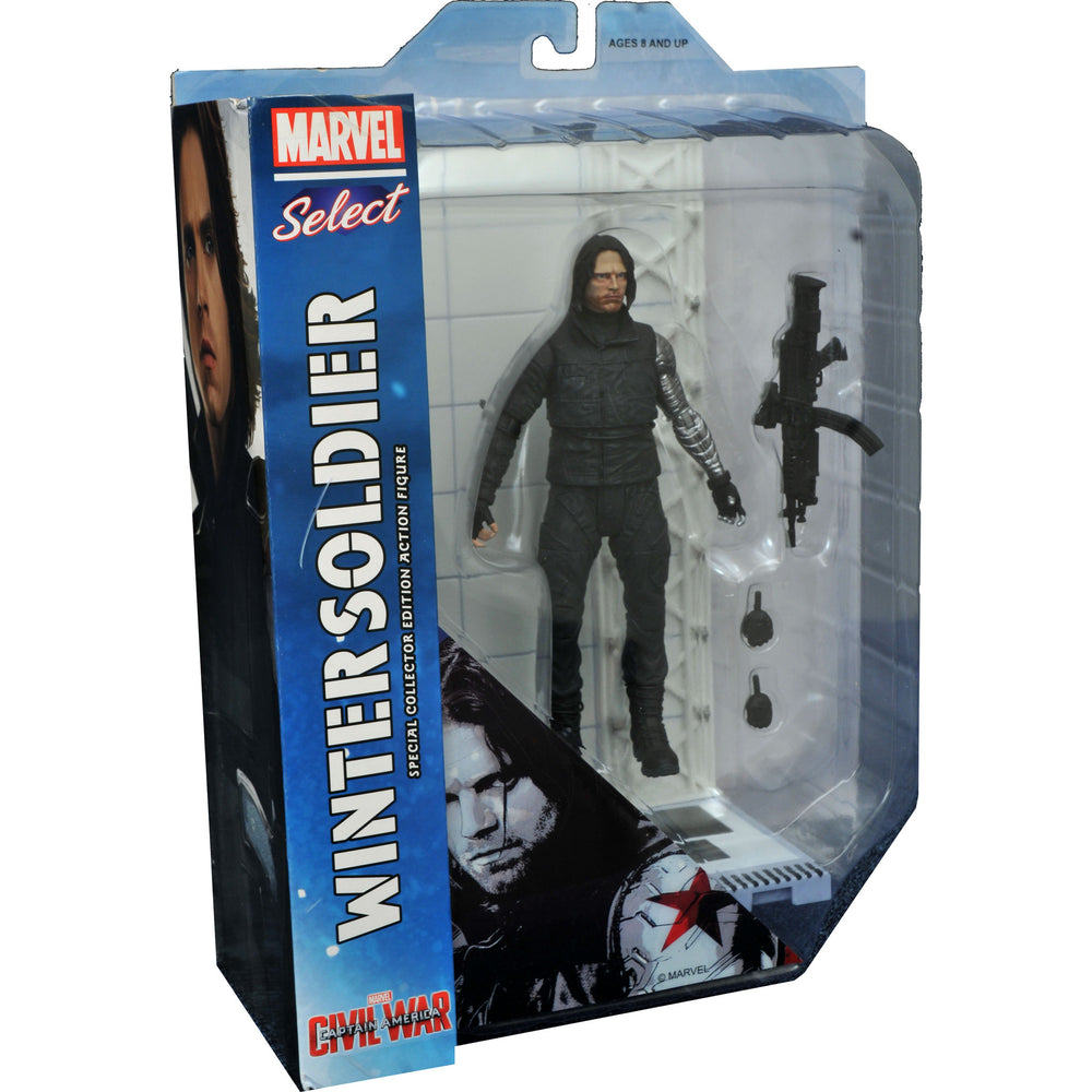 Marvel Select Civil War Winter Soldier
