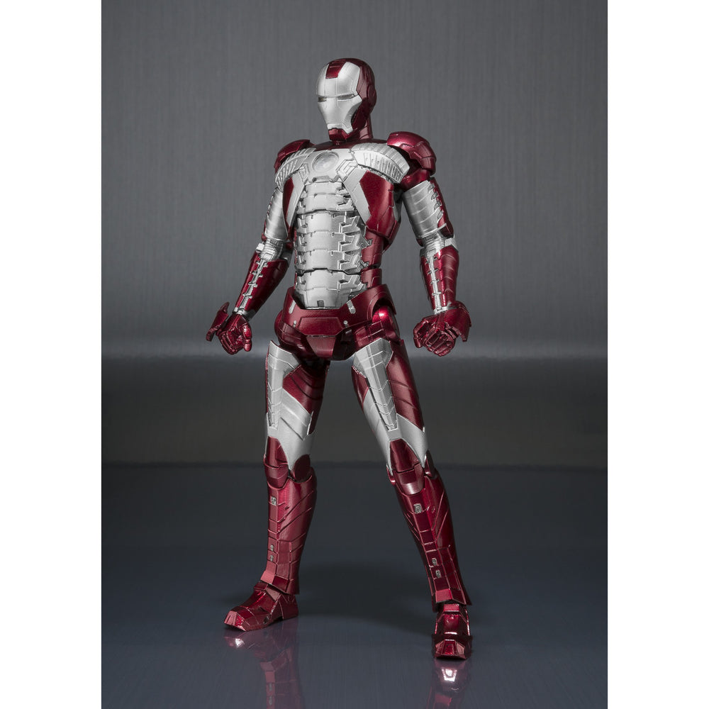 S.H. Figuarts: Iron Man Mark V And Hall Of Armor Set