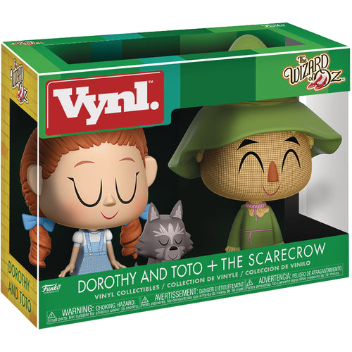 Vynl. The Wizard Of Oz: Dorothy with Toto & Scarecrow