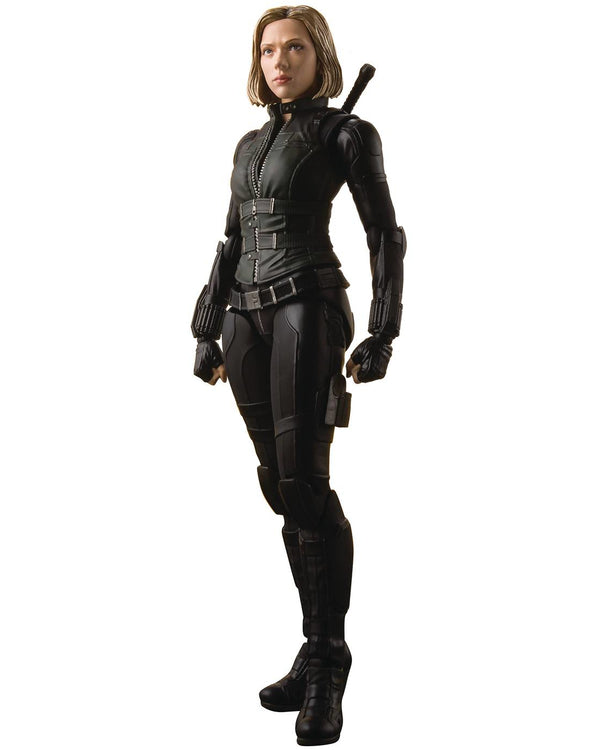 S.H. Figuarts Avengers: Infinity War Black Widow & Explosion Effect Set