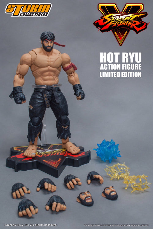 Storm Collectibles Street Fighter V Hot Ryu (Black Pants)