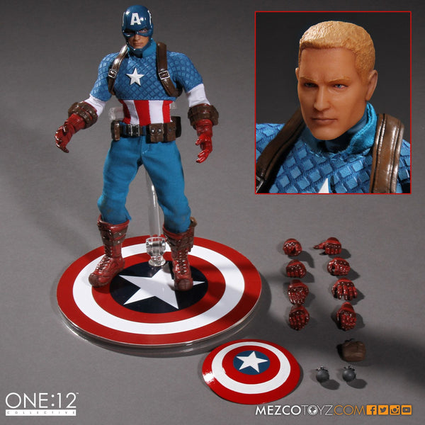 Mezco One:12 Collective Captain America