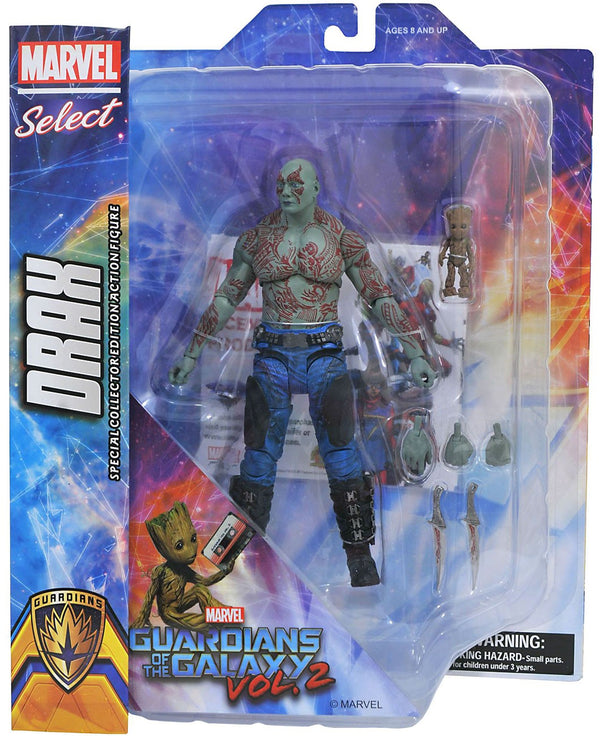 Marvel Select Guardians Of The Galaxy 2 Drax & Groot