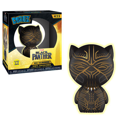 Dorbz: Black Panther - Erik Killmonger (Glow-In-The-Dark)